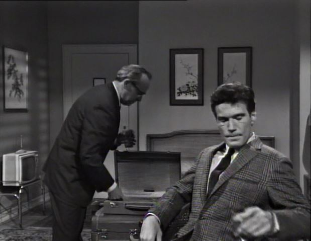 Television in Stuart Bronson's room_Bangor Pine Hotel_1966_ep27