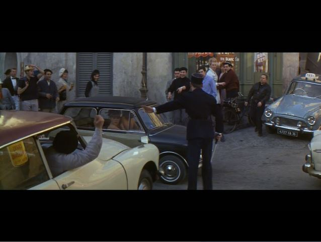 Green Hornet_A Shot in the Dark_Maria Gambrelli and Inspector Clouseau_car scene (1)_ep60
