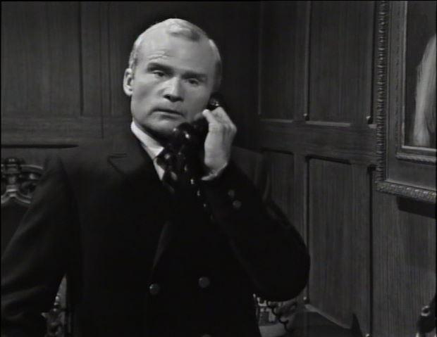 Roger telephones Sam Evans in episode 51_ep64
