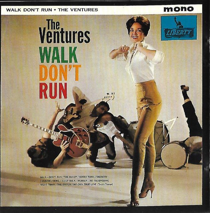 (The) Ventures_Walk Don't Run_album cover (front)_ep64